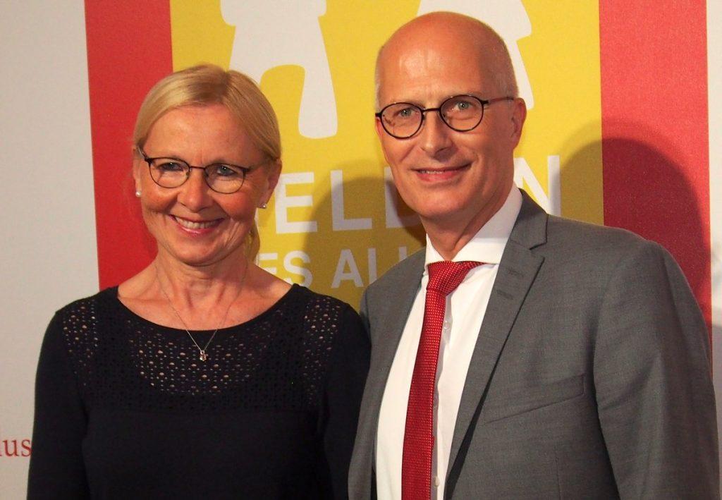 Gala Helden des Alltags in Hamburg -Dr. Peter Tschentscher mit Gattin Eva-Maria
