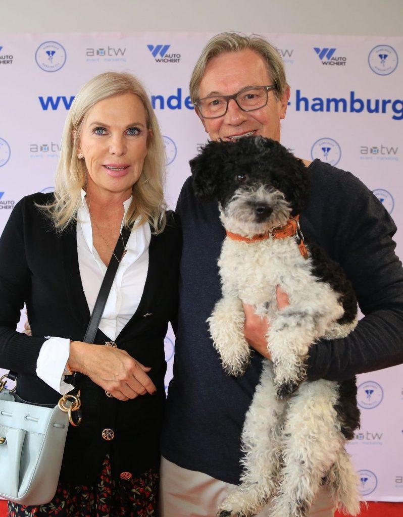 Susanne Korden mit Hund