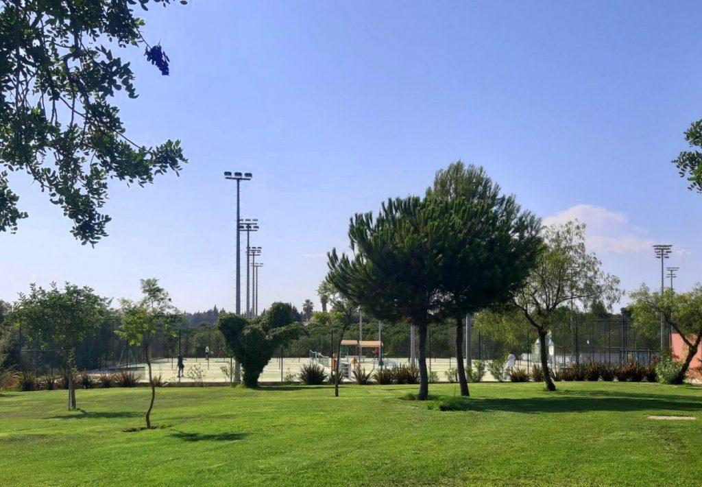 Tennisanlage des Robinson Club Quinta da Ria