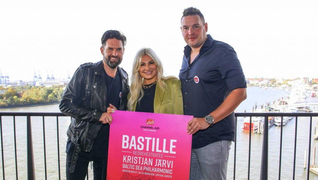 Channel Aid Bastille Konzert Ankündigung