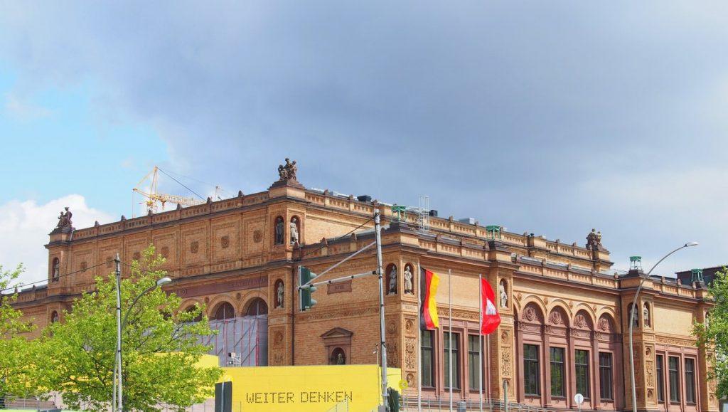 Die Hamburger Kunsthalle am Hauptbahnhof