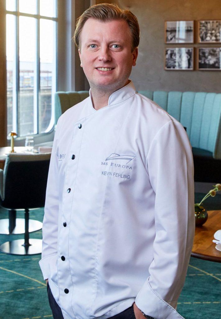 Kevin Fehling kocht auf der MS Europa