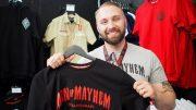 Der Modeunternehmer Kevin Herbst