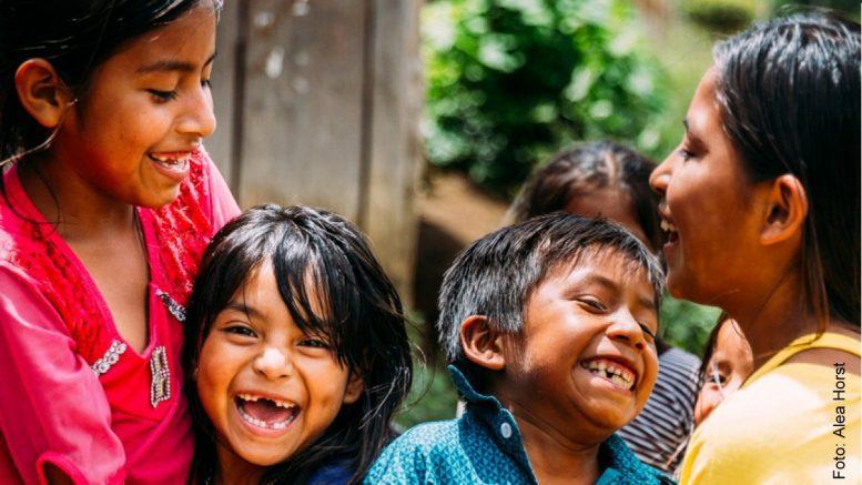 Kinder in einem SOS Kinderdorf