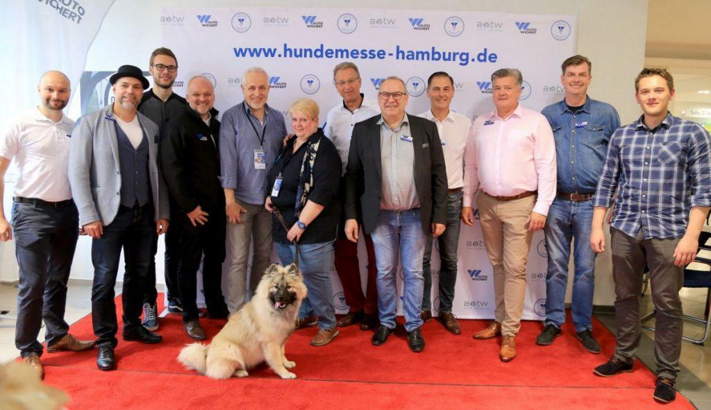 Teamgruppenfoto Hamburger Hundemesse