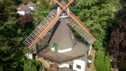 Luftaufnahme Bergedorfer Mühle