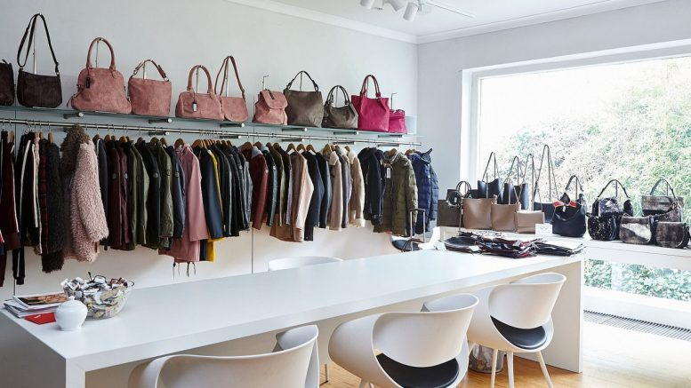 Ein Showroom des Hamburger fashion pool