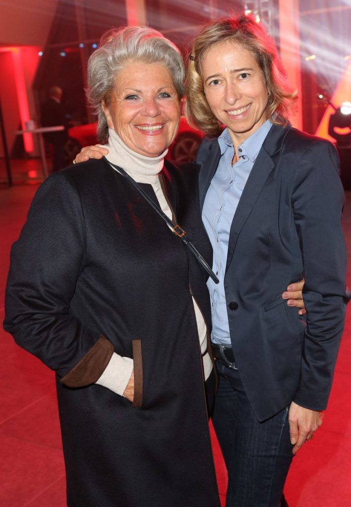 Hannelore Lay mit Silke Lange