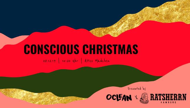 Veranstaltungsbanner CONSCIOUS CHRISTMAS MARKET