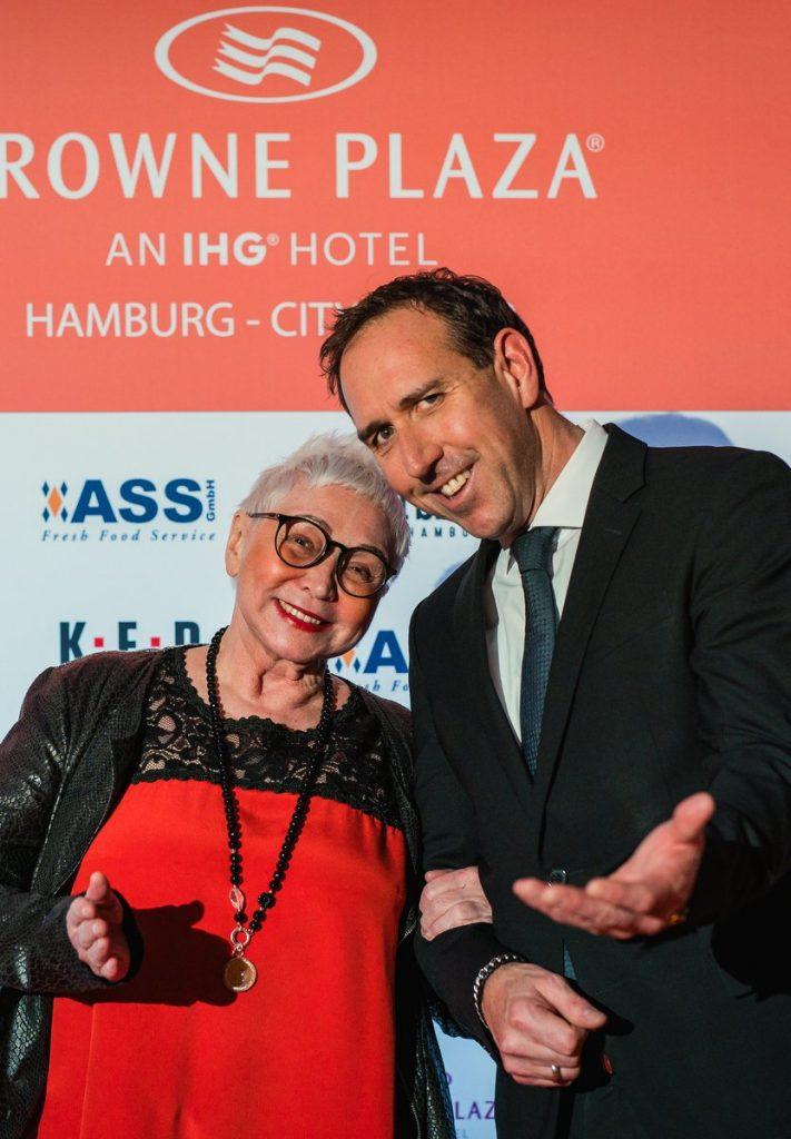 Brigitte Sely mit Hannes Dreher