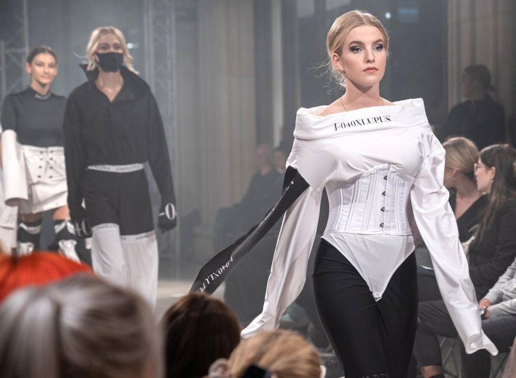 zweite Fashion Night-Show in der Kaisergalerie