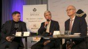 Diskussionsrunde bei Hamburgs Spitzen mit Bürgermeister