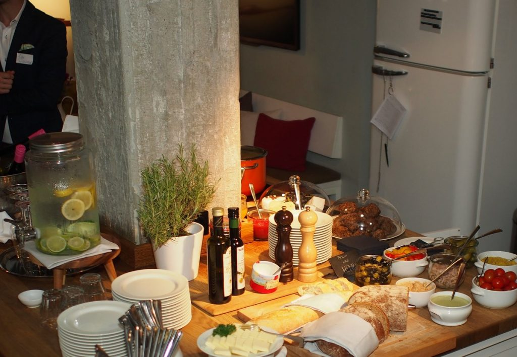 Küche des Henri Hotel