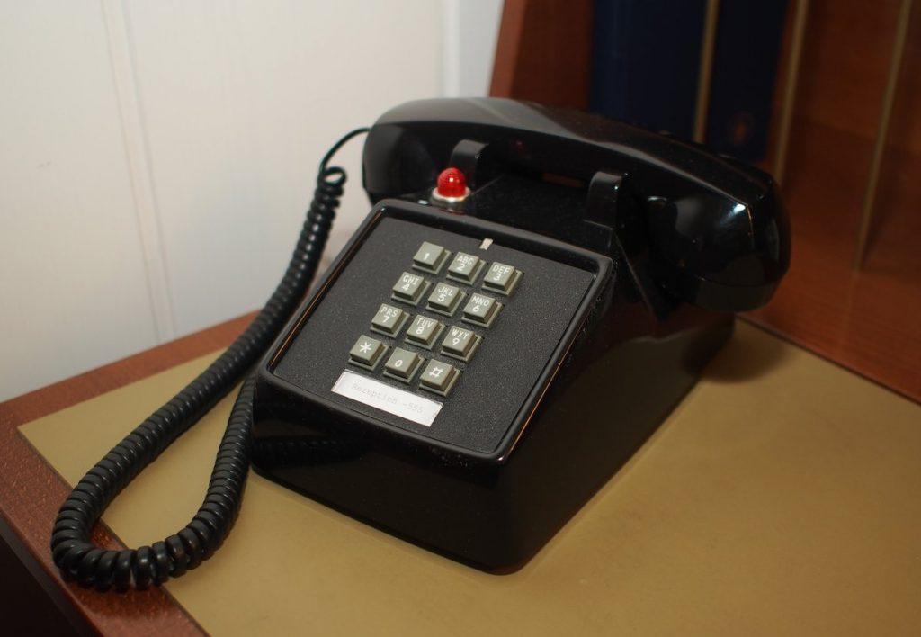 Altes Tastentelefon aus den 1960er Jahren