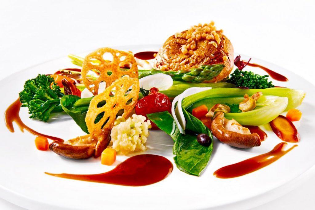 Gegrillter Pilz vegetarisch
