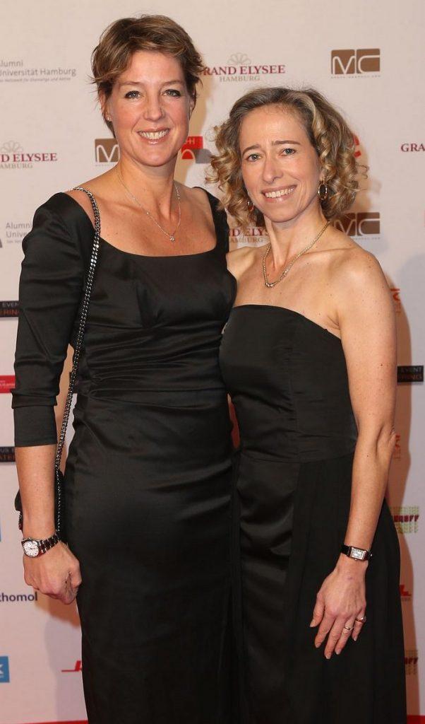 Christine Block mit Silke Lange