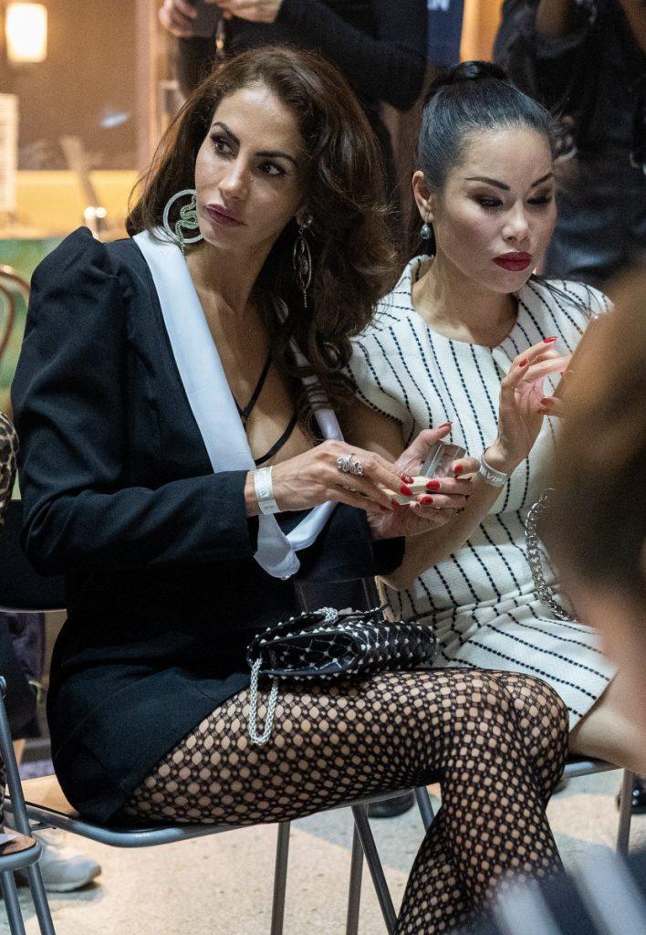 Gäste bei der zweite Fashion Night-Show in der Kaisergalerie