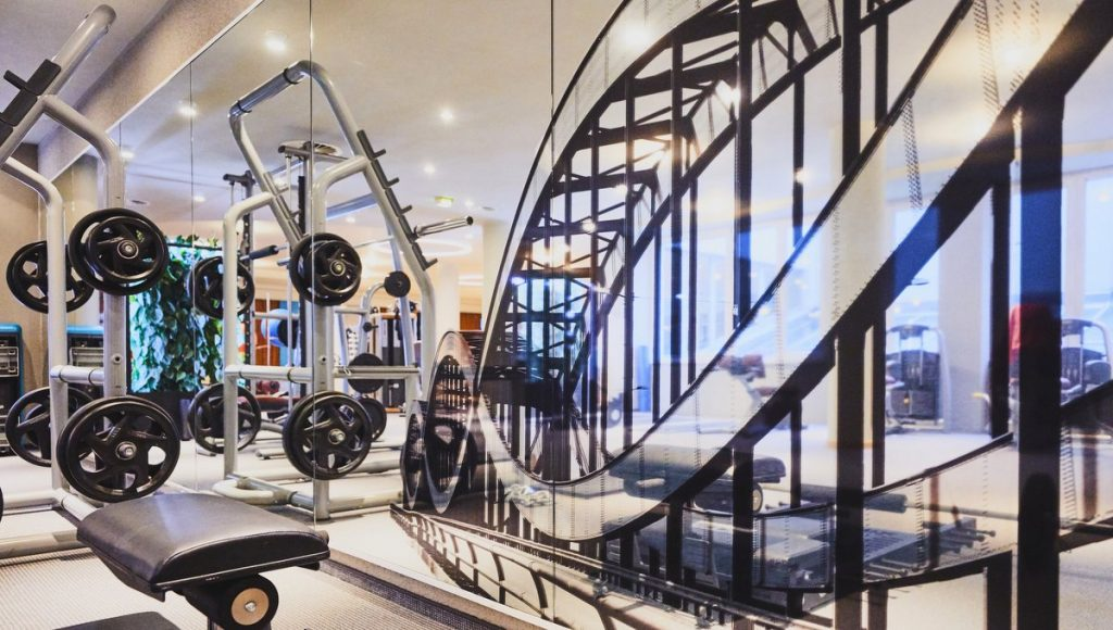 Blick ins Meridian Spa & Fitness