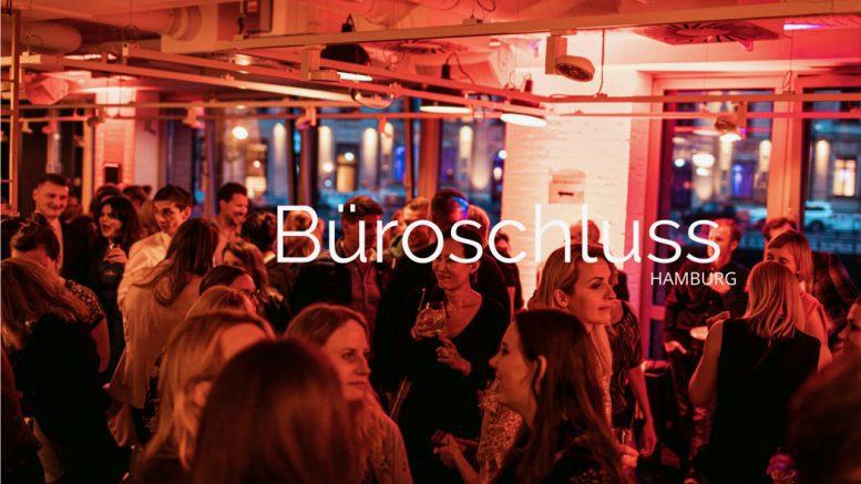 Büroschluss-Party in Hamburg