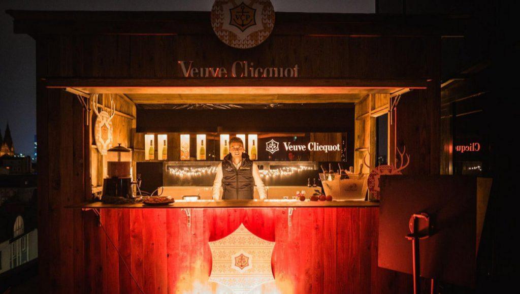Die Veuve Clicquot Hütte