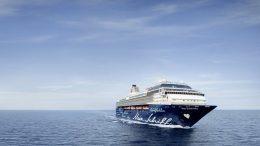 Ein Mein Schiff Keuzfahrtschiff auf hoher See