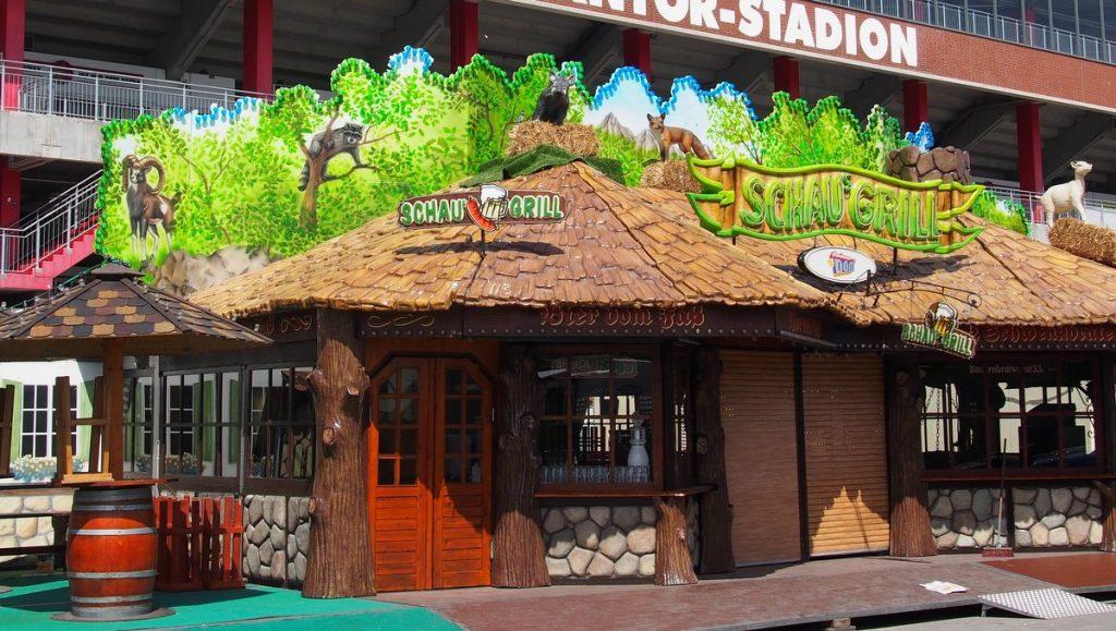 Schaus Grill auf dem Jahrmarkt Hamburger Dom