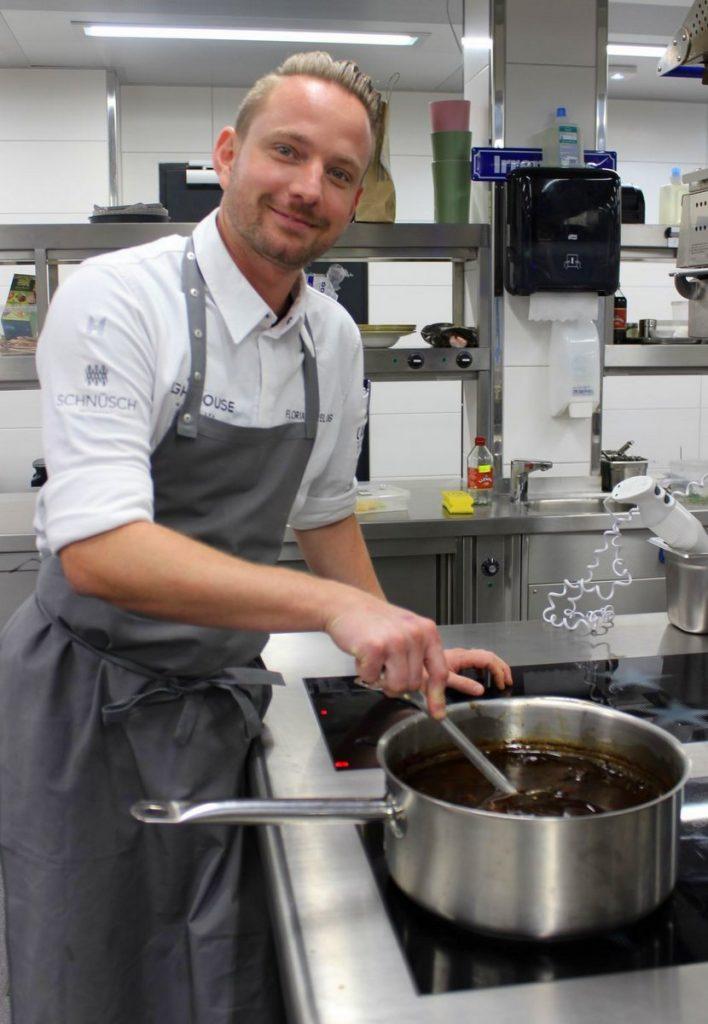 Lighthouse Hotel & Spa - Florian Prelog in der Küche