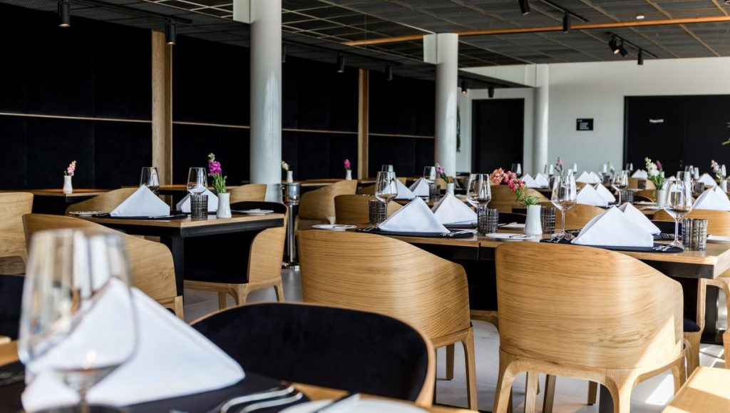 Gastraum Restaurant GINN Hamburg