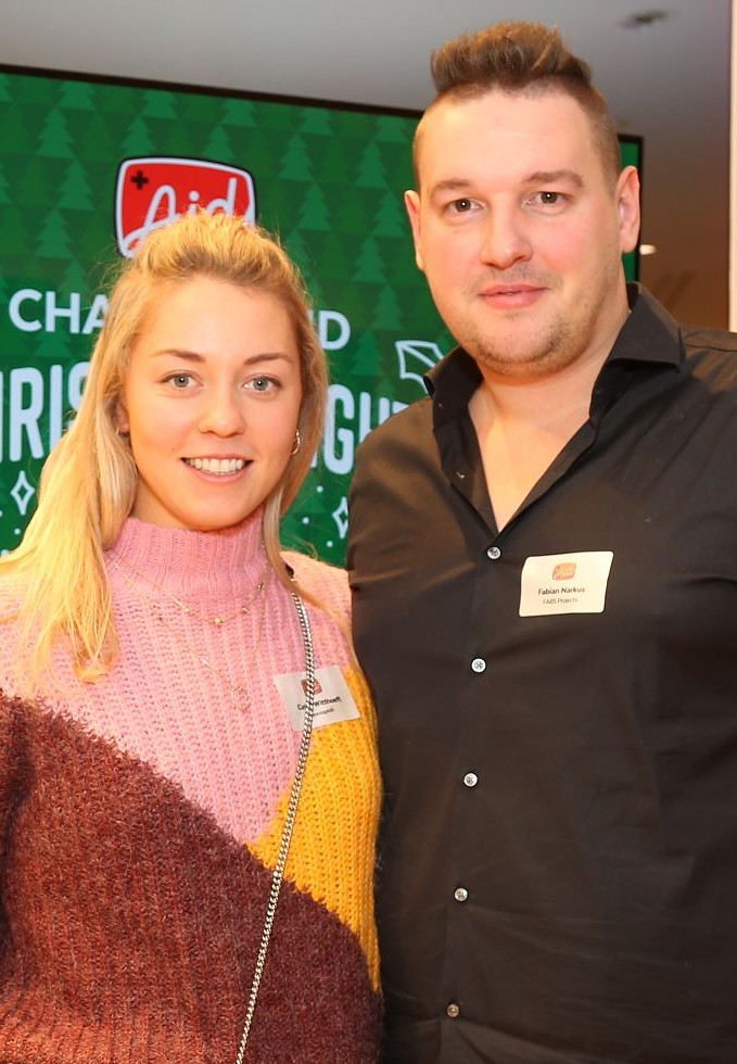 Fabian Narkus mit Carina Witthöft