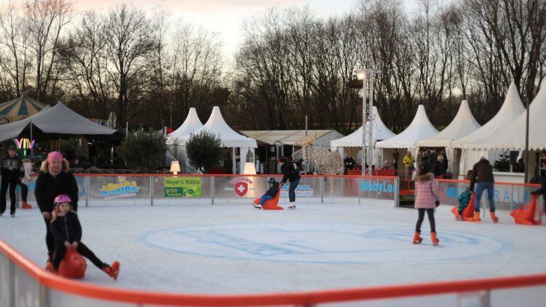 Eisbahn Winter Wonderland in Norderstedt