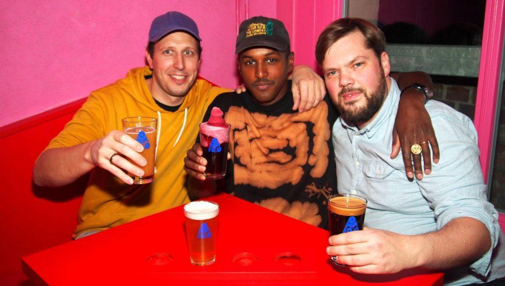 Die drei Macher der Omnipollos Bar Hamburg