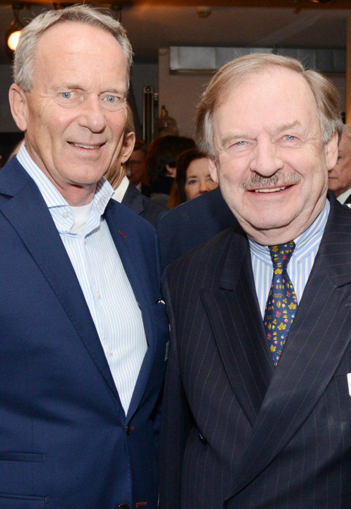 Ludolf Baron von Löwenstern und Dirk Fischer