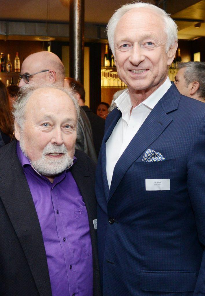 Hans Scheibner und Lutz Bethge