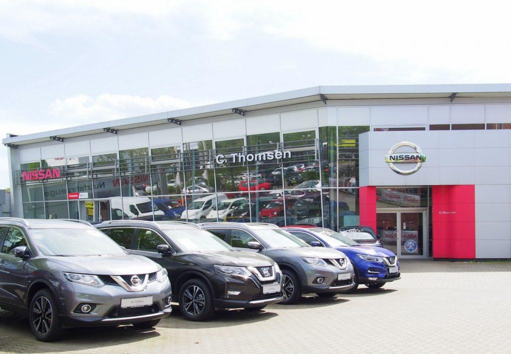 Nissan Autohaus in Hamburg Nedderfeld