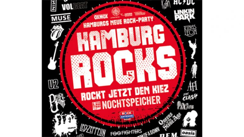 Veranstaltungsflyer Hamburg Rocks