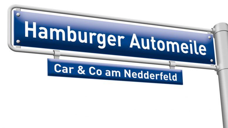 Logo der Hamburger Automeile