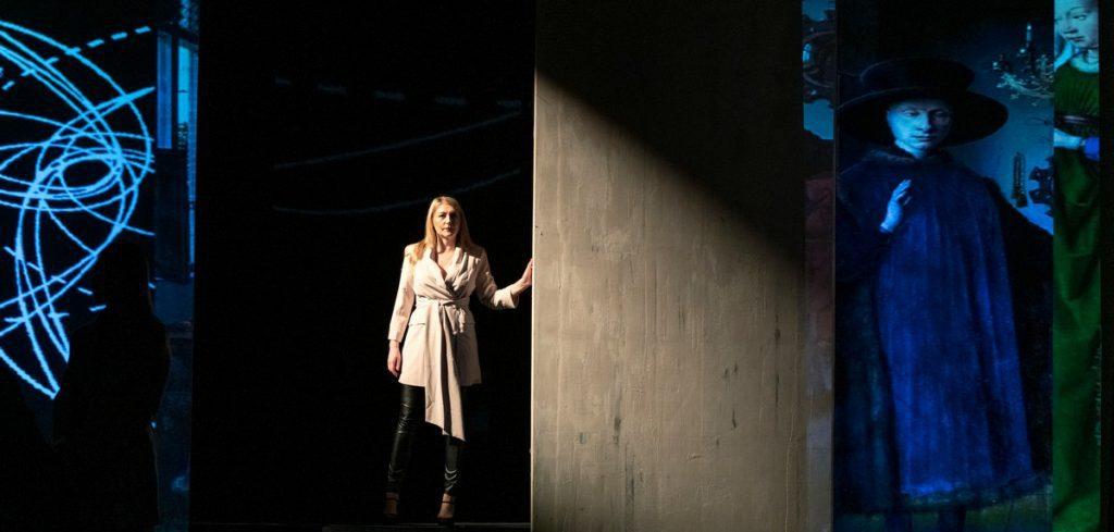 Sandra Quadflieg auf der Bühne