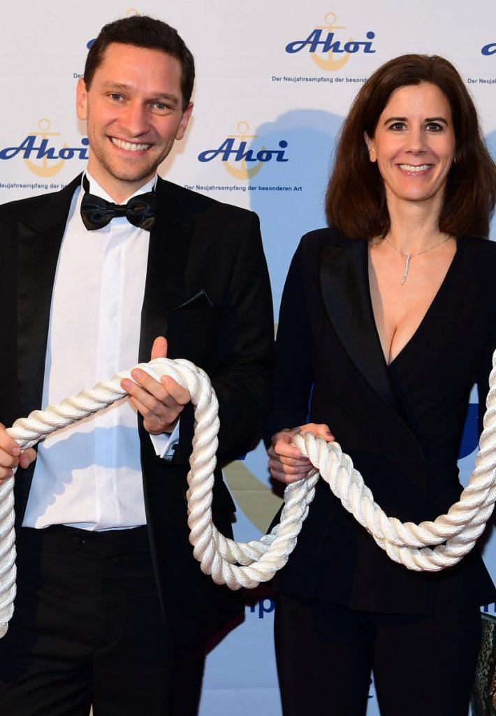 Halten Tau - Florian Zschiedrich mit Katja Suding (FDP)