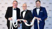 Lars Meier, Dr. Peter Tschentscher und Christian Resetarits