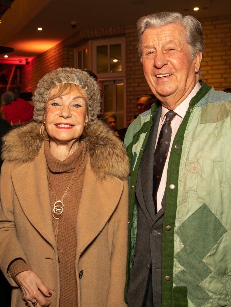 Dagmar Berghoff mit Adi Darboven