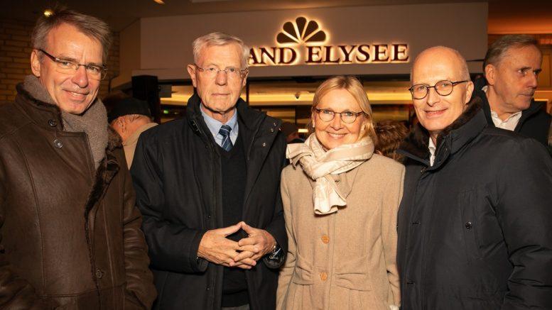 Eugen Block mit Hamburgs ersten Bürgermeister