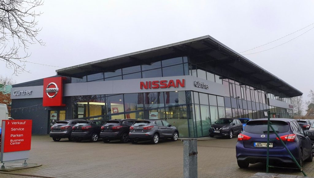 Nissan Günther Businesscenter in Ahrensburg