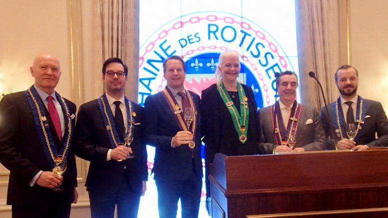 Gruppenfoto Chaîne des Rôtisseurs Jahresempfang 2020 in Hamburg