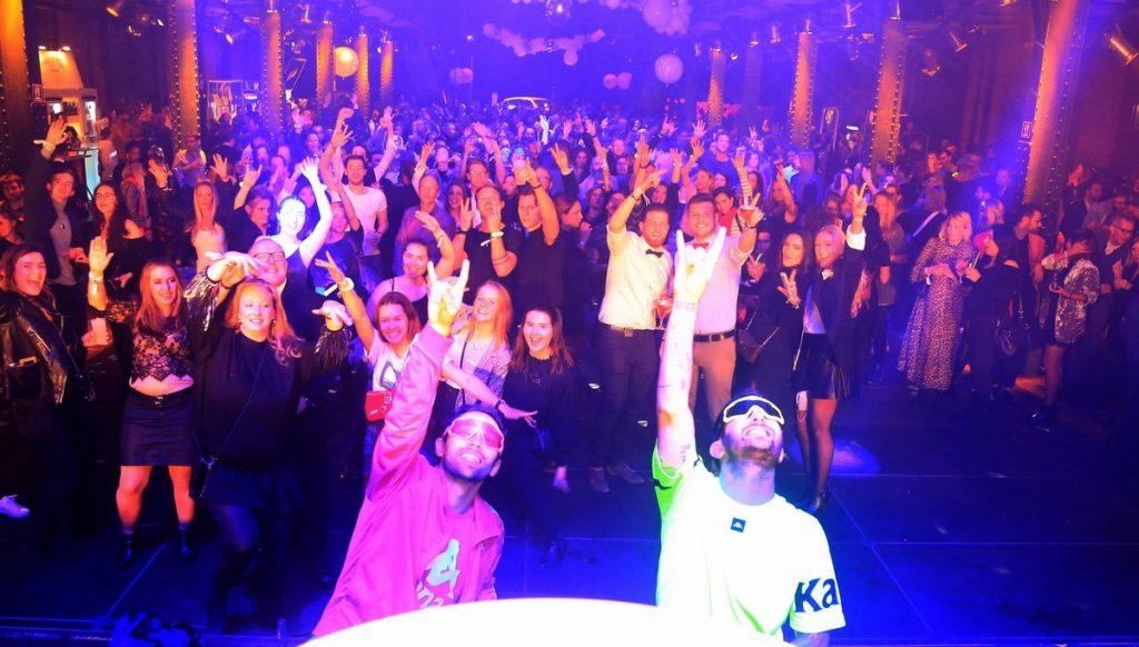 Party in der Fischauktionhalle Hamburg