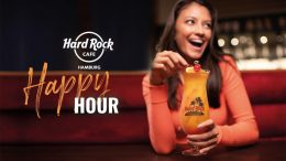 Werbemotiv Happy Hour im Hard Rock Cafe