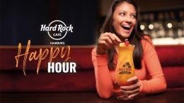 Werbemotiv Happy Hour im Hard Rock Cafe