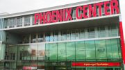 Aussenansicht Phoenix Center Hamburg Harburg. Das größte Harburger Shopping Center