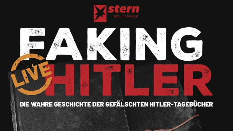 "Plakat Faking Hitler"" - am 24. April 2020 im Audimax"