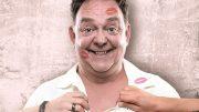 Der britische Stand-up Comedian Don Clarke