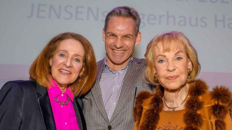 NCL Stiftung Gruppenaufname: Birgit Saatrübe-Mölders, Dr. Frank Husemann, Dagmar Berghof,